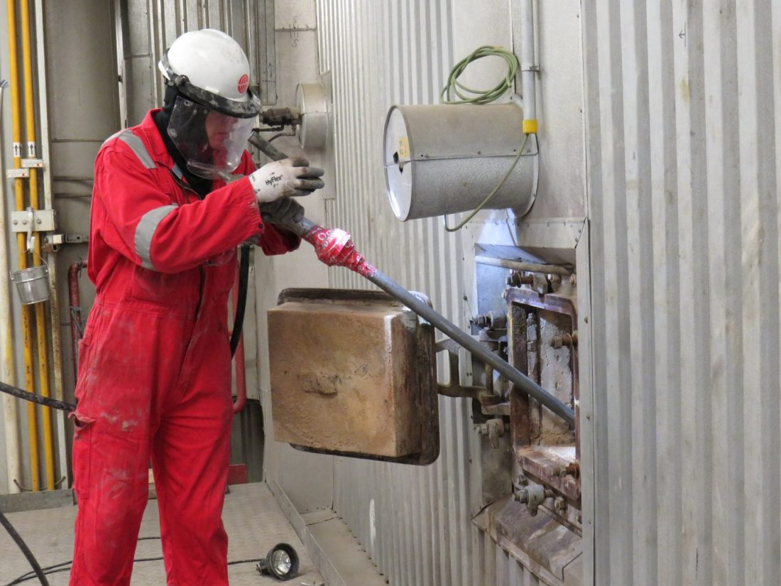 Patented Linear, Industrial boiler Cleaning